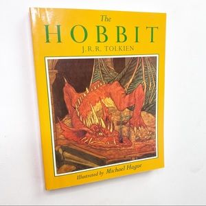 The HOBBIT J.R.R. Tolkien Large Paperback Book
